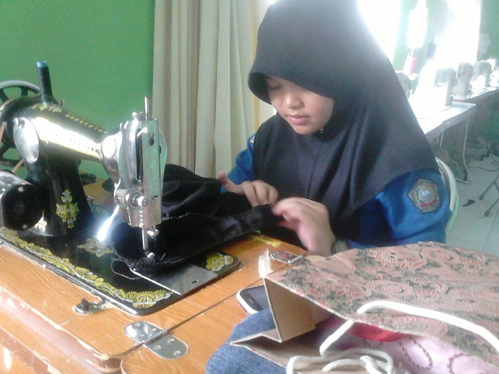 The Student of Sewing Class