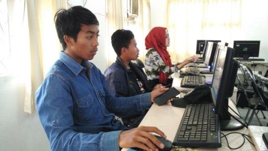 VTC students at Digital Marketing workshop