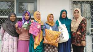 YUM's Cipanas Sewing Project team