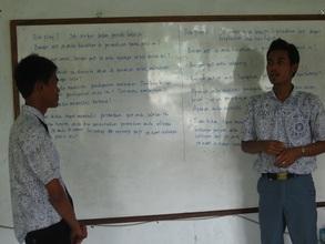 Role Play in Job Seeking Skills Class