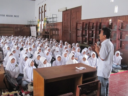 VTC Presentation in school
