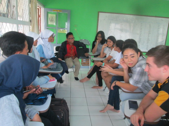 Jakarta Intercultural School and VTC students