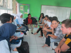 Jakarta Intercultural School and VTC students