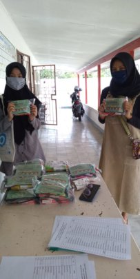 The hygiene kits  for VTC's students