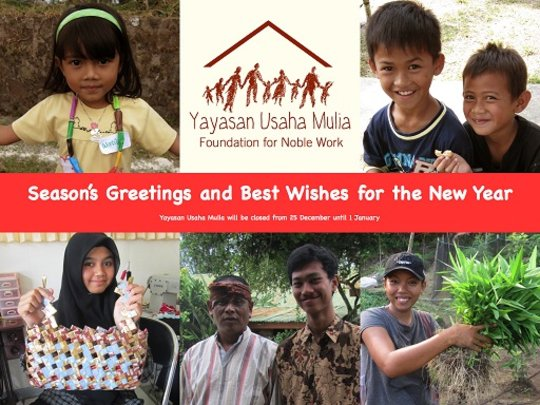 Thanks for your support & good luck for next year!