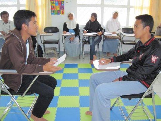 interview practice in job seeking skills class