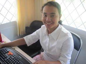 VTC Computer course student