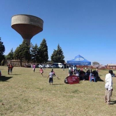 Soweto Field Laying Celebration