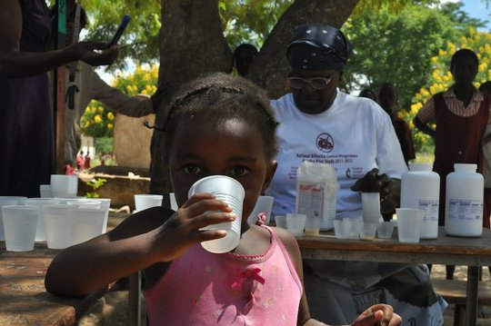 Treat 60,000 children in rural Zimbabwe