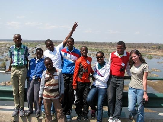 The children at Kruger National Park