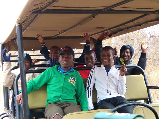 Game drive with the kids!