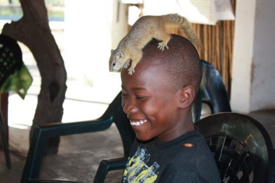 Themba & Squirrel
