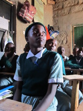 Girls at Hamomi School share stories of kits' help