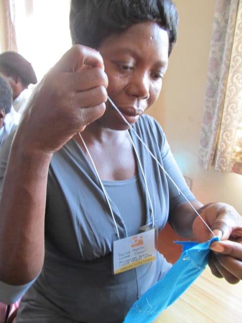 Teach Kenyan Women to Make Feminine Hygiene