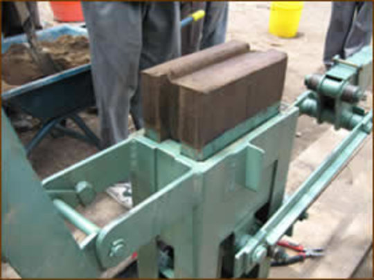 The Stabilized Soil Block Machine