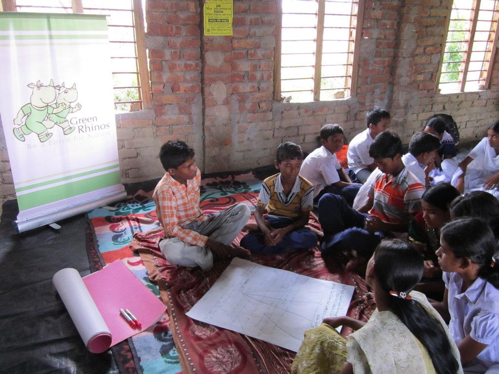 Green Rhinos Leaders training in Sundarbans