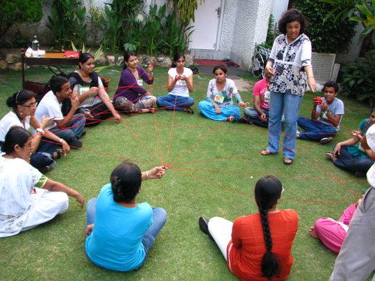 Green Rhinos Leaders Training in Kolkata
