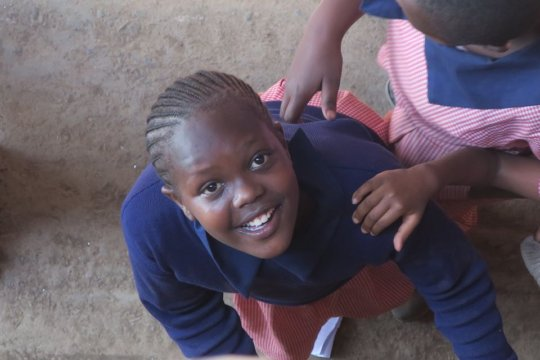 One of our healthy and happy Class 5 students