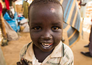 Smiles in South Sudan IDP Camps