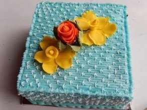 Vivian's finished cake