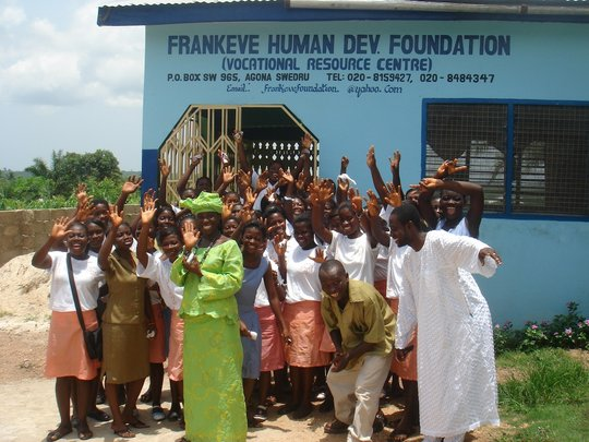 Training 280 girls in Vocational Skills in Ghana