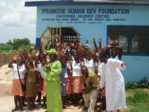 Training 280 girls in Vocational Skills in Ghana