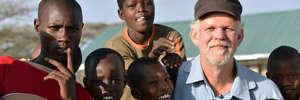 with a few of the Samburu boys at Daaba Primary