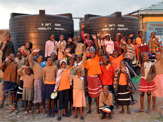 Irbaan School girls dormitory rainwater system