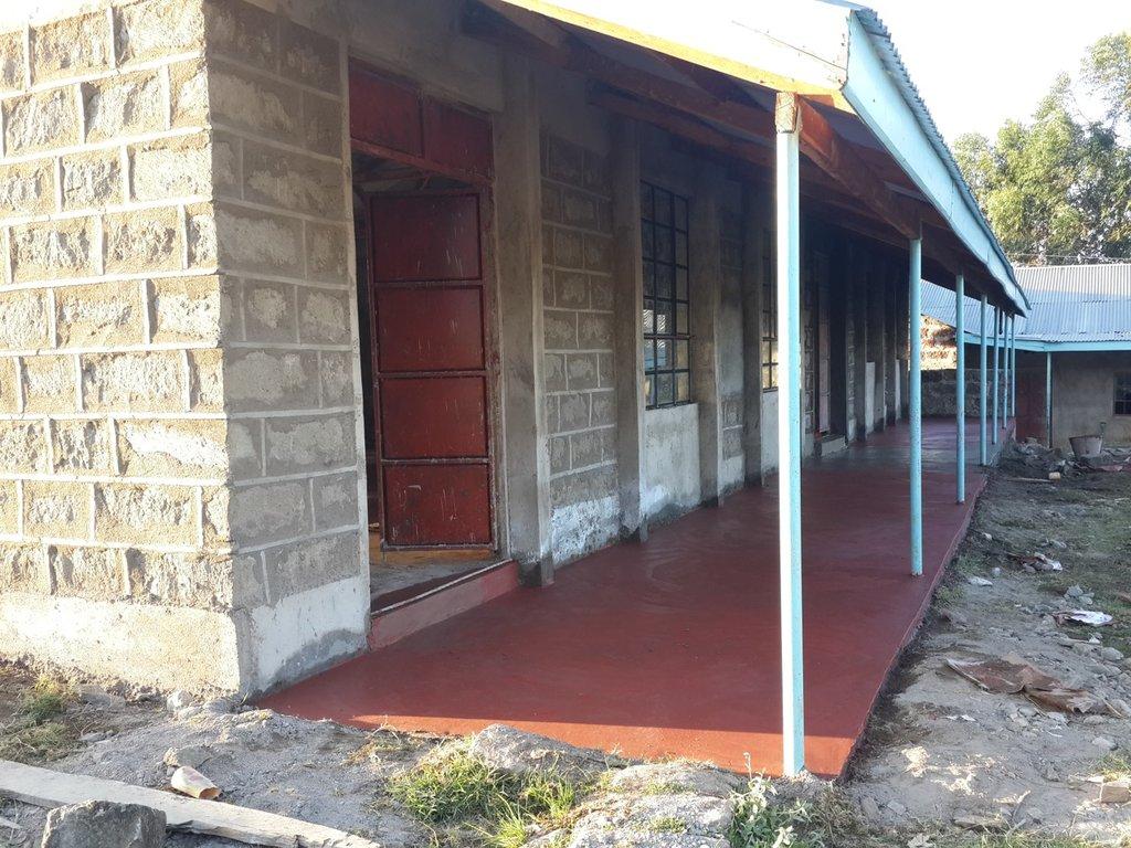 Kamiruri Primary - new classrooms!