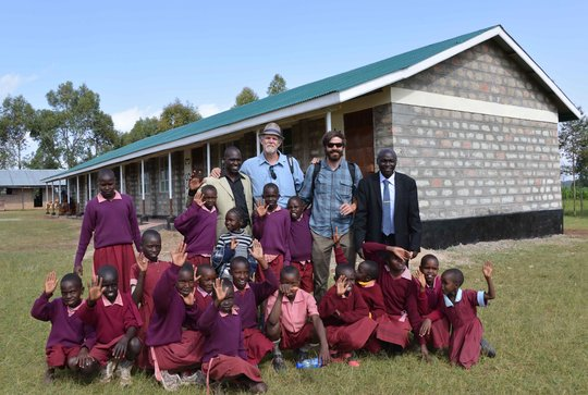 New 4-classroom block at Konyit Primary