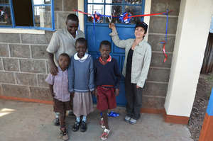 The New Mogaka School Classroom