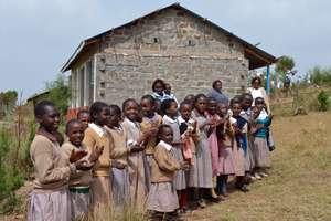 Mugaka Hill Primary new classroom