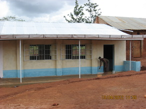 New classroom nearing completion at Mutaki Primary