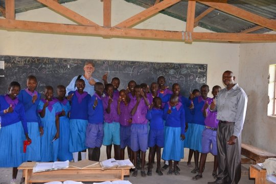 The 8th graders at Konyit Primary