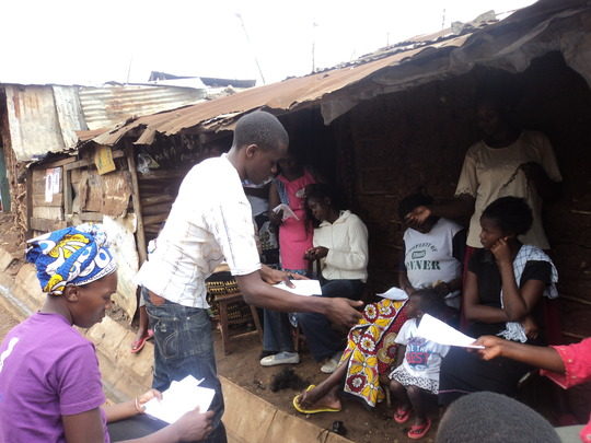 HIV community sensitization