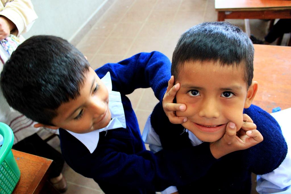 Tiquipaya schools students
