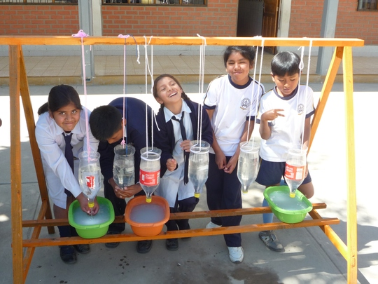 Innovation: The hand washing station