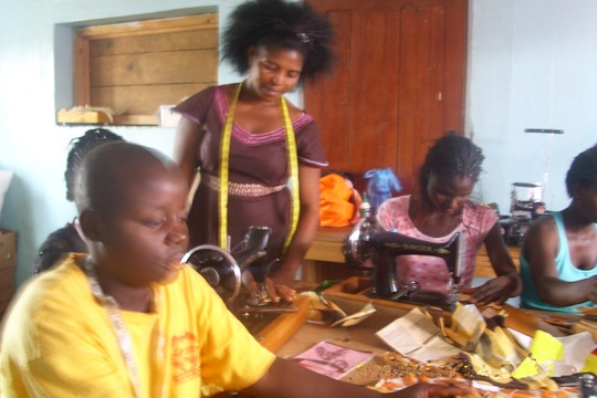 Working hard learning Tailoring
