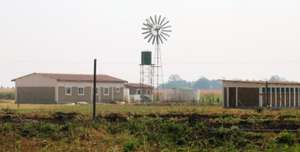 Windpump and classroom