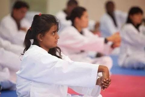Taekwondo session led by World Taekwondo Fdn