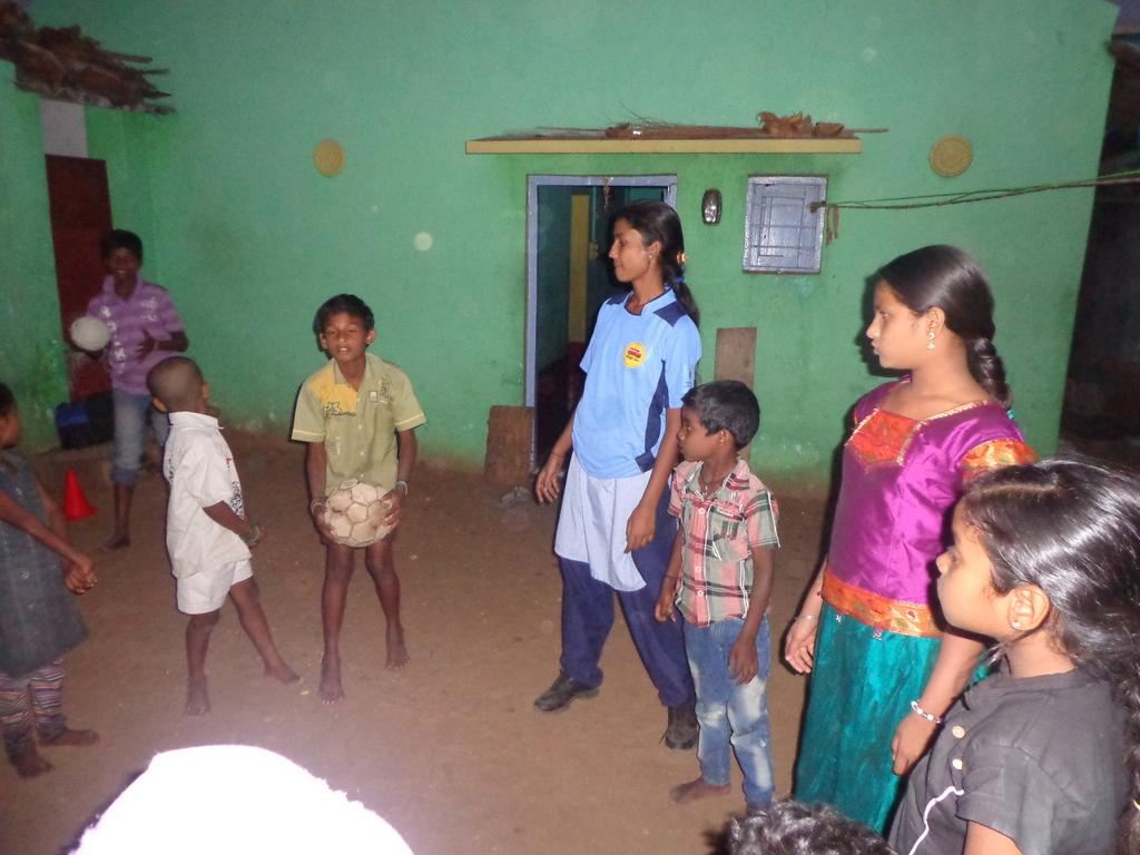 Swetha serving as a Community Youth Leader