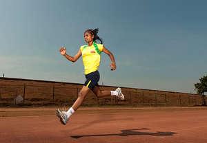 Parvati on the training field