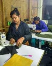 Asha at work