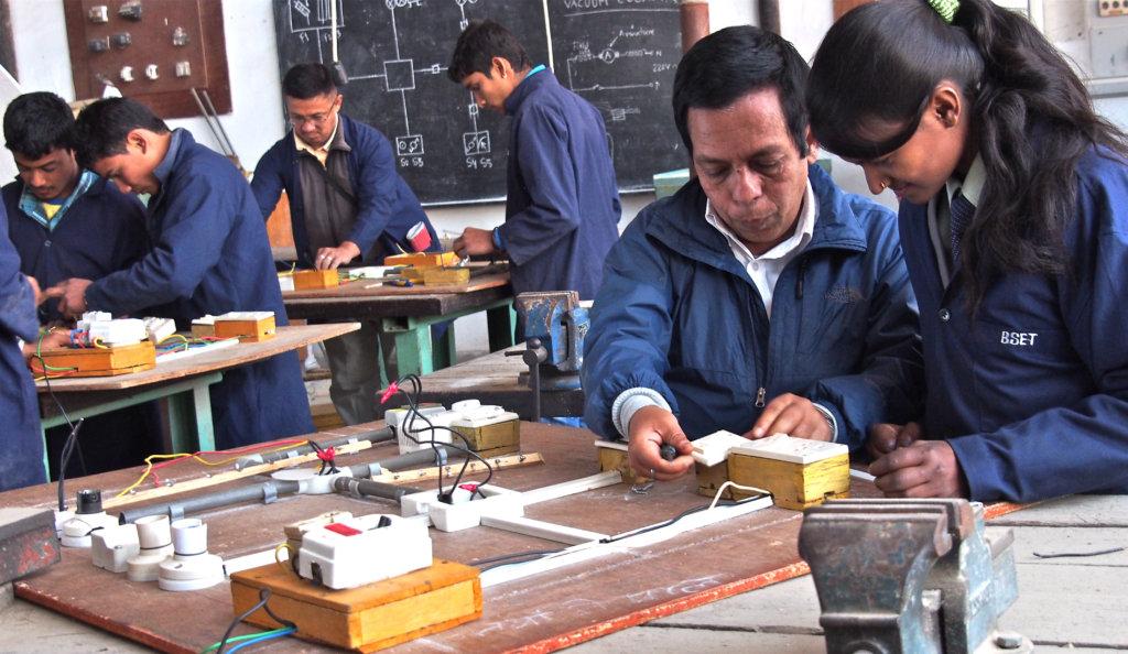 Electrical technician training