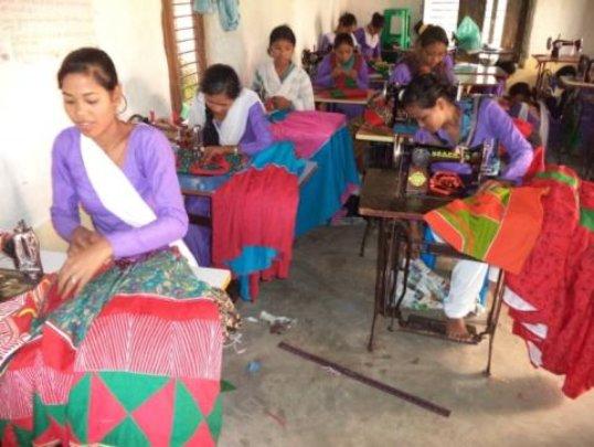 Seamstress training