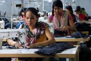 Freed Kamlari in tailoring course