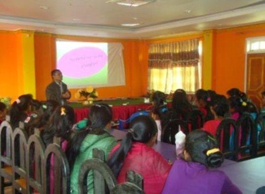Vocational training orientation for freed Kamlaris