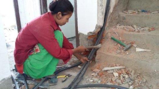 Priti employed at a housing company