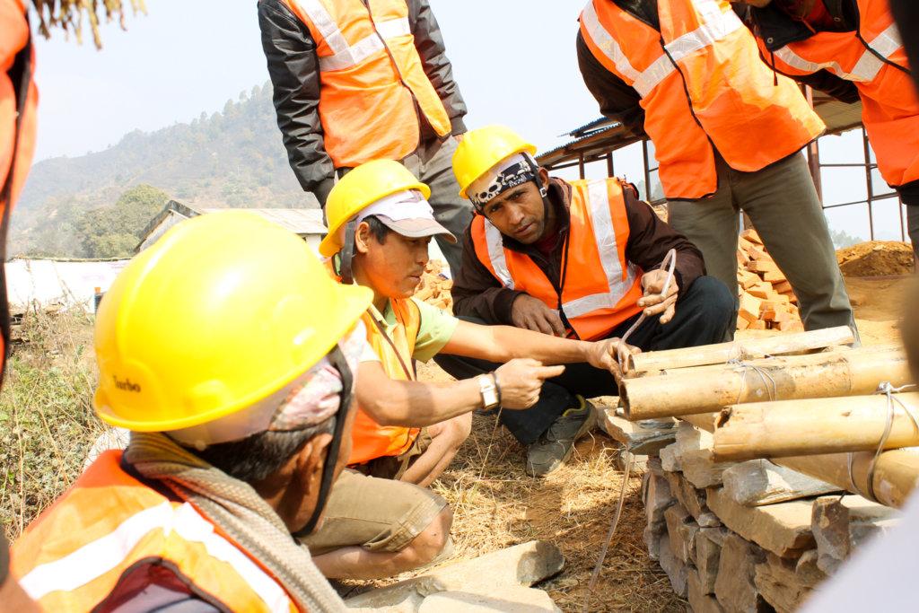 Construction skills training
