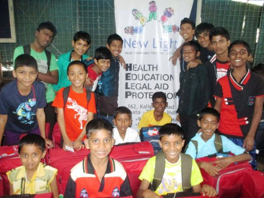 Opening of new boys home